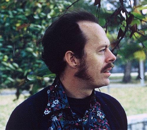 Chuck between careers, in the 60s