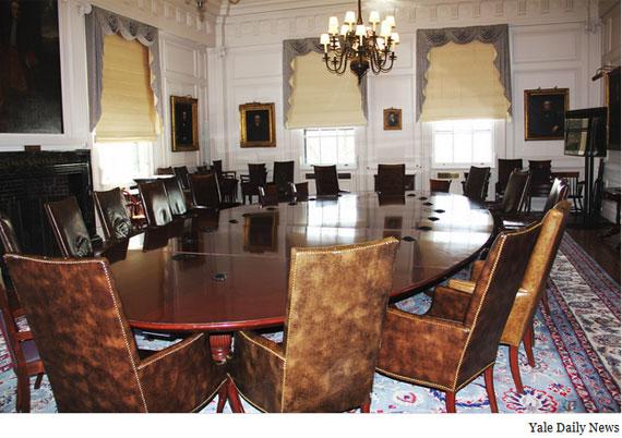 empty board room